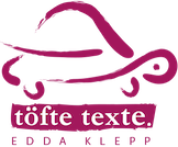 Töfte Texte | Edda Klepp Logo