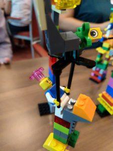 Turmbau beim Lego Serious Play