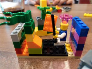 Karriere-Situation beim Lego Serious Play